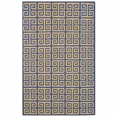 Eastern Rugs Handmade Contemporary Geometric Flatweave Reversible Athena Rug
