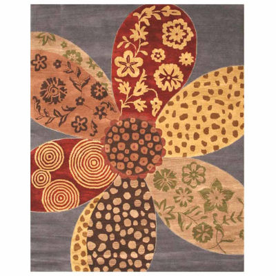 Eastern Rugs Hand-tufted Contemporary Floral NapaRug