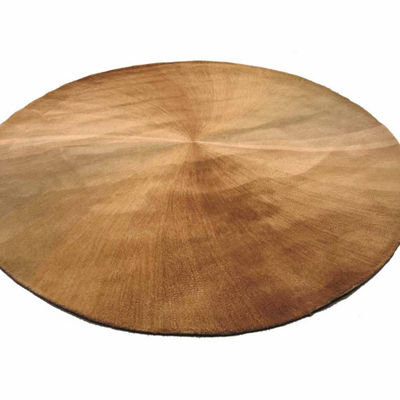 Eastern Rugs Hand-tufted Contemporary Abstract Swirl Round Rug