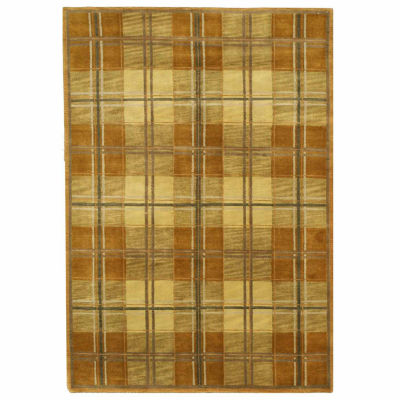 Eastern Rugs Hand-knotted Transitional Oriental Tartan Rug
