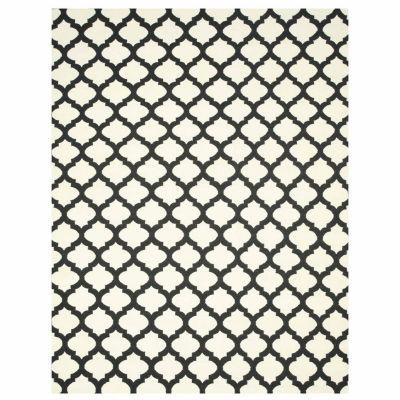 Eastern Rugs Handmade Transitional Trellis Reversible Modern Moroccan Kilim Rug