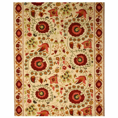 Eastern Rugs Hand-tufted Traditional Oriental Suzanis Rug