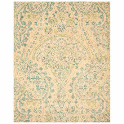 Eastern Rugs Hand-tufted Transitional Paisley Jain Rug
