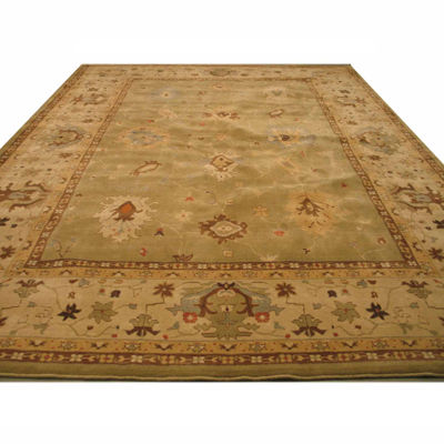 Eastern Rugs Machine-Made Traditional Oriental Katabagh Rug