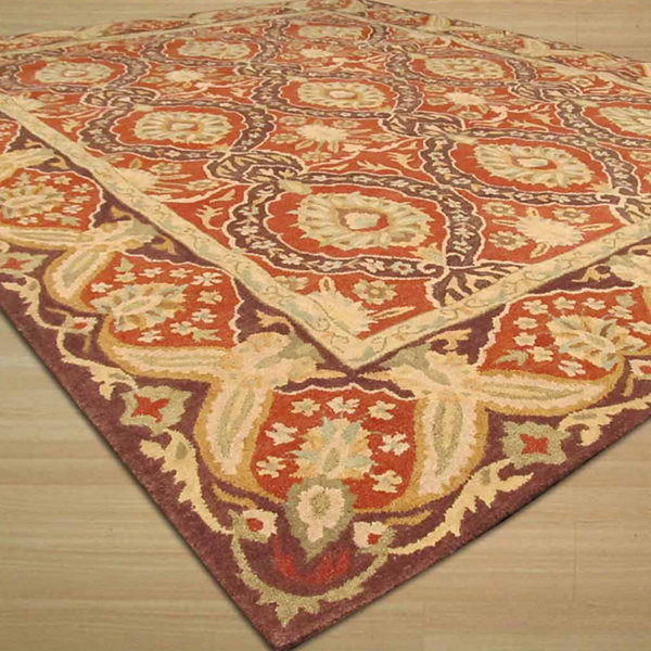 Eastern Rugs Hand-tufted Traditional Oriental Khyber Rug