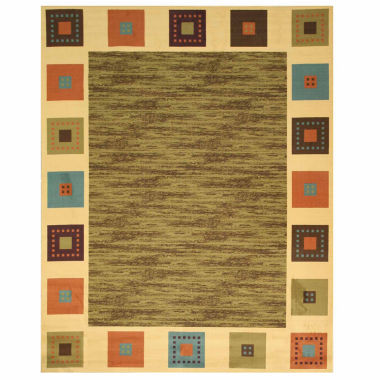 Eastern Rugs Machine-Made Transitional Solid Gabbeh Rug