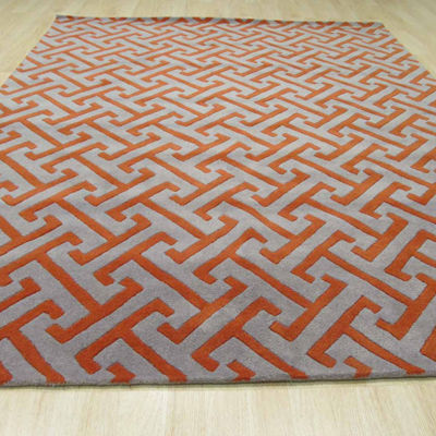 Eastern Rugs Hand-tufted Contemporary Geometric Harrison Rug