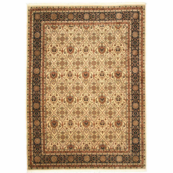 Eastern Rugs Hand-knotted Traditional Oriental Varamin Rug