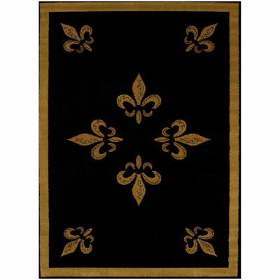 United Weavers Affinity Collection Fleur De Lis Rectangular Rug