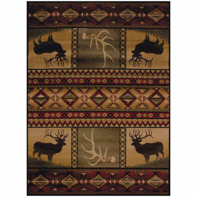 United Weavers Affinity Collection Hunter's Dream Rectangular Rug