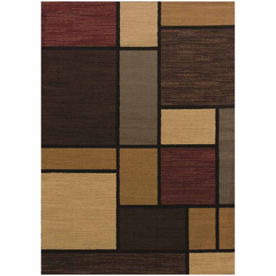 United Weavers Affinity Collection Rhombus Rectangular Rug