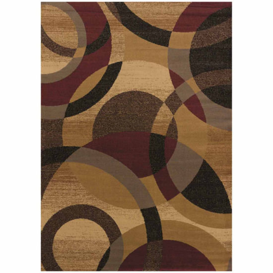 United Weavers Affinity Collection Ricochet Rectangular Rug