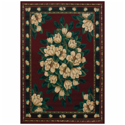 United Weavers Manhattan Collection Magnolia Rectangular Rug