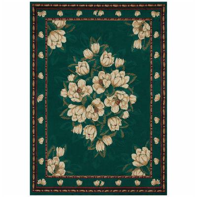 United Weavers Manhattan Collection Magnolia Rectangular Rug