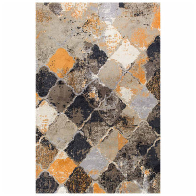 Kas Abstract Rectangular Rug
