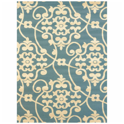 United Weavers Vision Collection Jardin Rectangular Rug