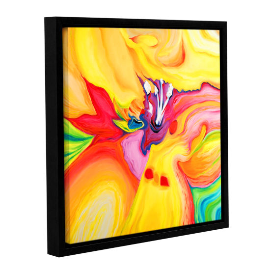 Brushstone Brushstone Secret Life of Lily GalleryWrapped Floater-Framed Canvas Wall Art