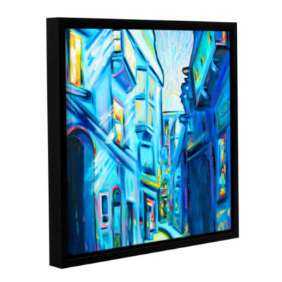 Brushstone Brushstone Magical Alleys of Venice Gallery Wrapped Floater-Framed Canvas Wall Art