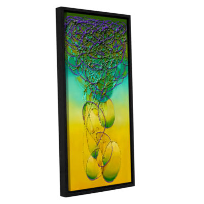 Brushstone Brushstone Inventing Gallery Wrapped Floater-Framed Canvas Wall Art
