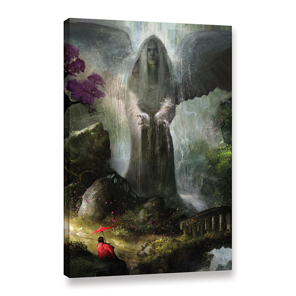 Brushstone A Place to Ponder Gallery Wrapped Canvas Wall Art