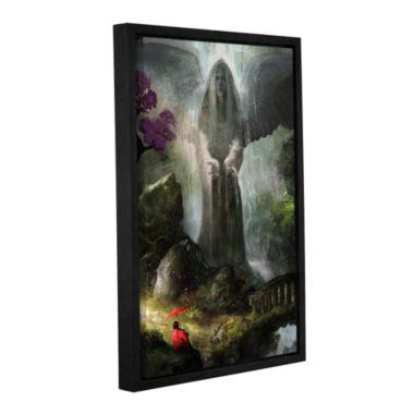 Brushstone A Place to Ponder Gallery Wrapped Floater-Framed Canvas Wall Art