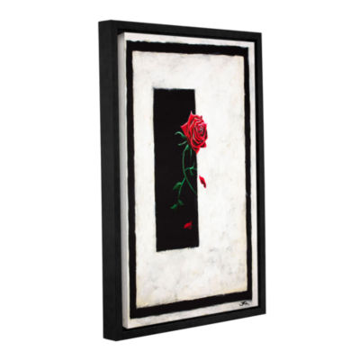 Brushstone A Rose Gallery Wrapped Floater-Framed Canvas Wall Art