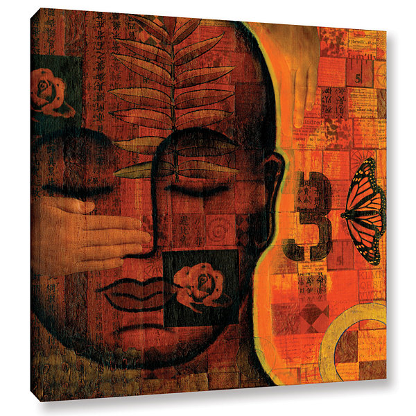 Brushstone All Seeing 1 Gallery Wrapped Canvas Wall Art