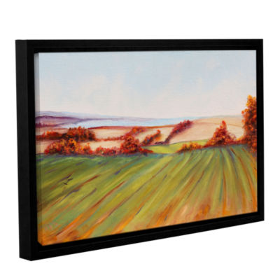 Brushstone All That Remains Gallery Wrapped Floater-Framed Canvas Wall Art