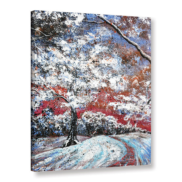 Brushstone A Time To Dream Gallery Wrapped CanvasWall Art