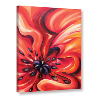 Brushstone Consuming Fire Gallery Wrapped Canvas Wall Art