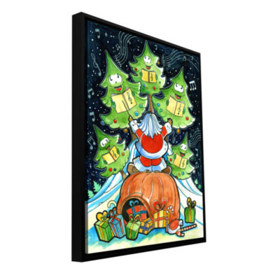 Brushstone Choir Gallery Wrapped Floater-Framed Canvas Wall Art