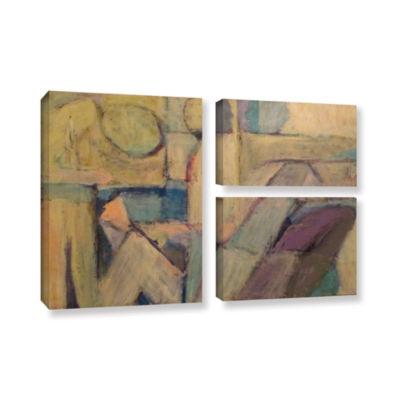 Brushstone Conversation 3-pc. Flag Gallery WrappedCanvas Wall Art