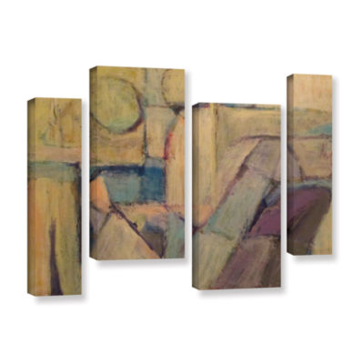 Brushstone Conversation 4-pc. Gallery Wrapped Staggered Canvas Wall Art