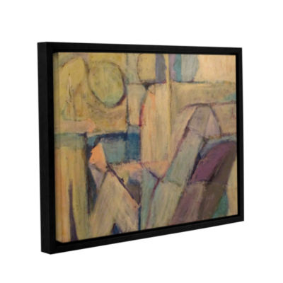Brushstone Conversation Gallery Wrapped Floater-Framed Canvas Wall Art