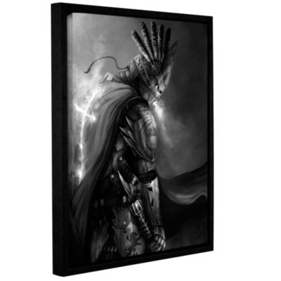 Brushstone Christ Within 2 Gallery Wrapped Floater-Framed Canvas Wall Art
