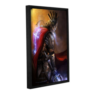 Brushstone Christ Within Gallery Wrapped Floater-Framed Canvas Wall Art