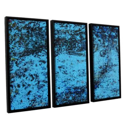 Brushstone Cosic Wind 3-pc. Floater Framed CanvasWall Art