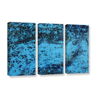 Brushstone Cosic Wind 3-pc. Gallery Wrapped CanvasWall Art