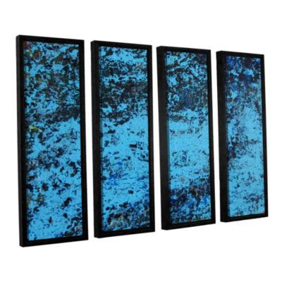Brushstone Cosic Wind 4-pc. Floater Framed CanvasWall Art