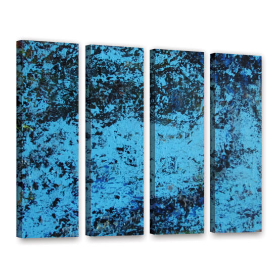 Brushstone Cosic Wind 4-pc. Gallery Wrapped CanvasWall Art