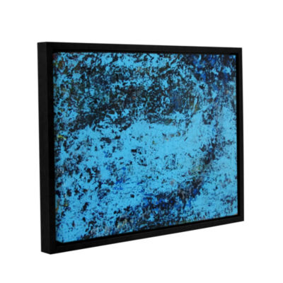 Brushstone Cosic Wind Gallery Wrapped Floater-Framed Canvas Wall Art