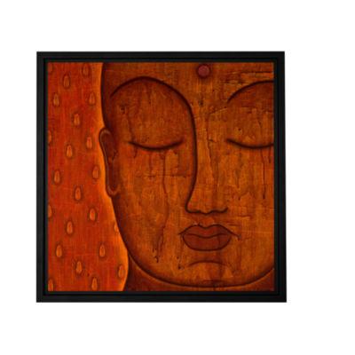 Brushstone Awakened Mind Gallery Wrapped Floater-Framed Canvas Wall Art