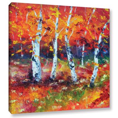 Brushstone Beautiful Demise Gallery Wrapped CanvasWall Art