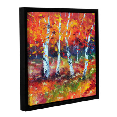 Brushstone Beautiful Demise Gallery Wrapped Floater-Framed Canvas Wall Art