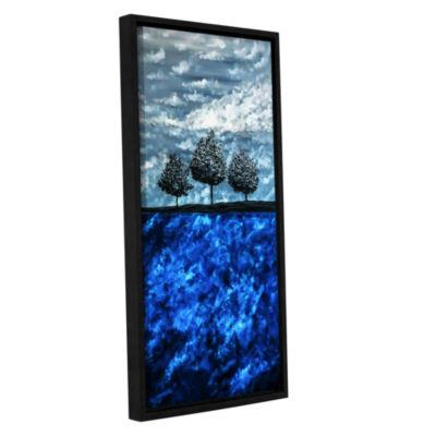 Brushstone Beauty in the Breakdown Gallery WrappedFloater-Framed Canvas Wall Art
