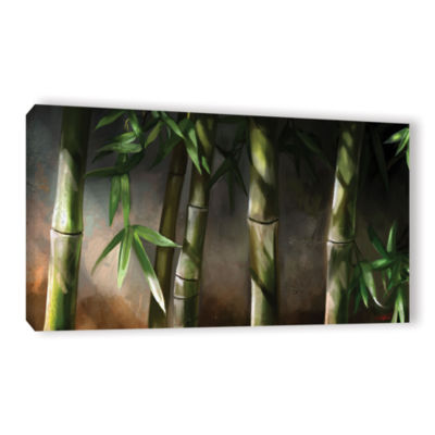 Brushstone Bamboo Gallery Wrapped Canvas Wall Art