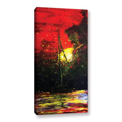 Brushstone Black Me Out Gallery Wrapped Canvas Wall Art