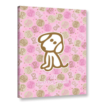 Brushstone Best Furry Friend 2 Gallery Wrapped Canvas Wall Art