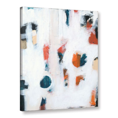 Brushtone Foam I Gallery Wrapped Canvas Wall Art