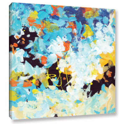 Brushtone Floral Garden 2 Gallery Wrapped Canvas Wall Art